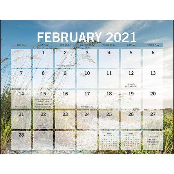 Scenic Small Memo 2021 Calendar | Club Colors - Event gift ...